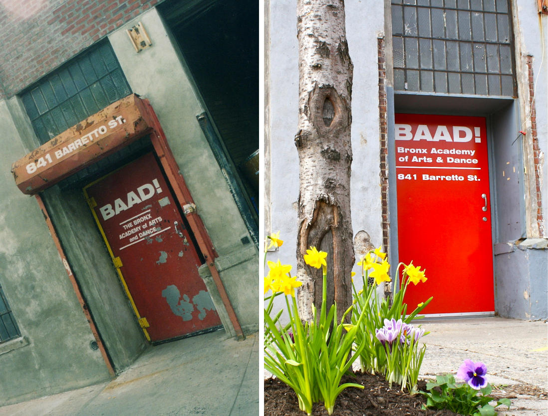 BAAD! door c1998 and c2010