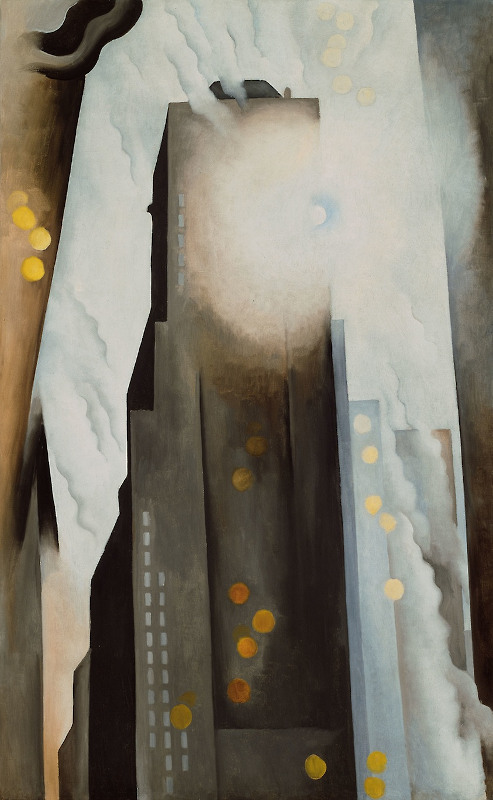 The Shelton with Sunspots, 1926. Source: Art Institute of Chicago.