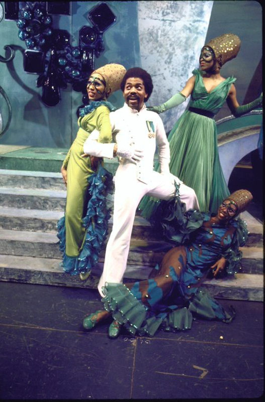 Andre de Shields in The Wiz, 1975. Photo martha Swope, Courtesy of the New York Public Library
