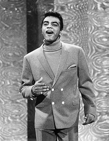 Johnny Mathis on the Ed Sullivan Show, 1967.